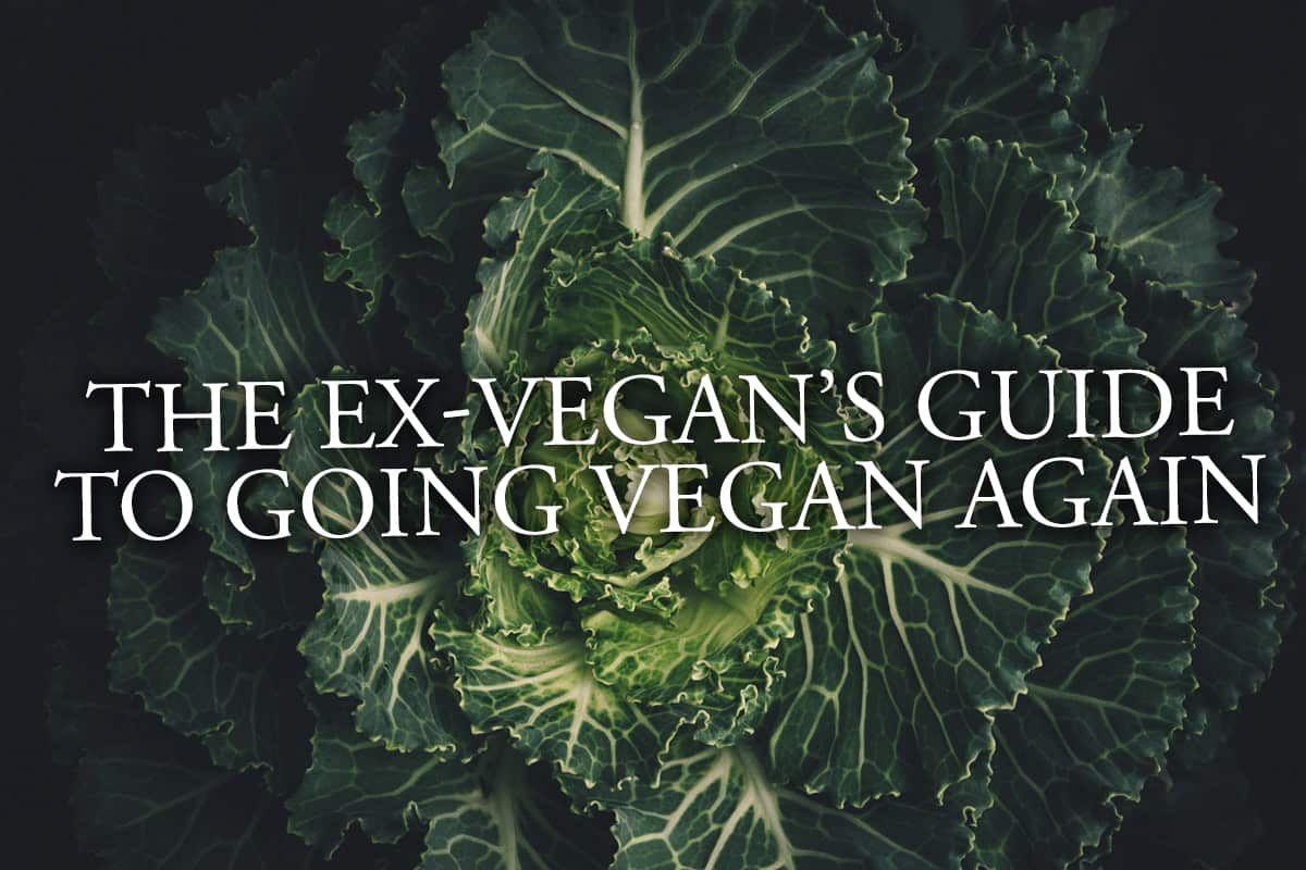 The Ex-Vegan's Guide To Going Vegan Again