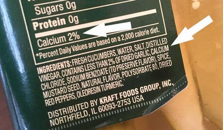 Is the calcium chloride in pickles vegan?