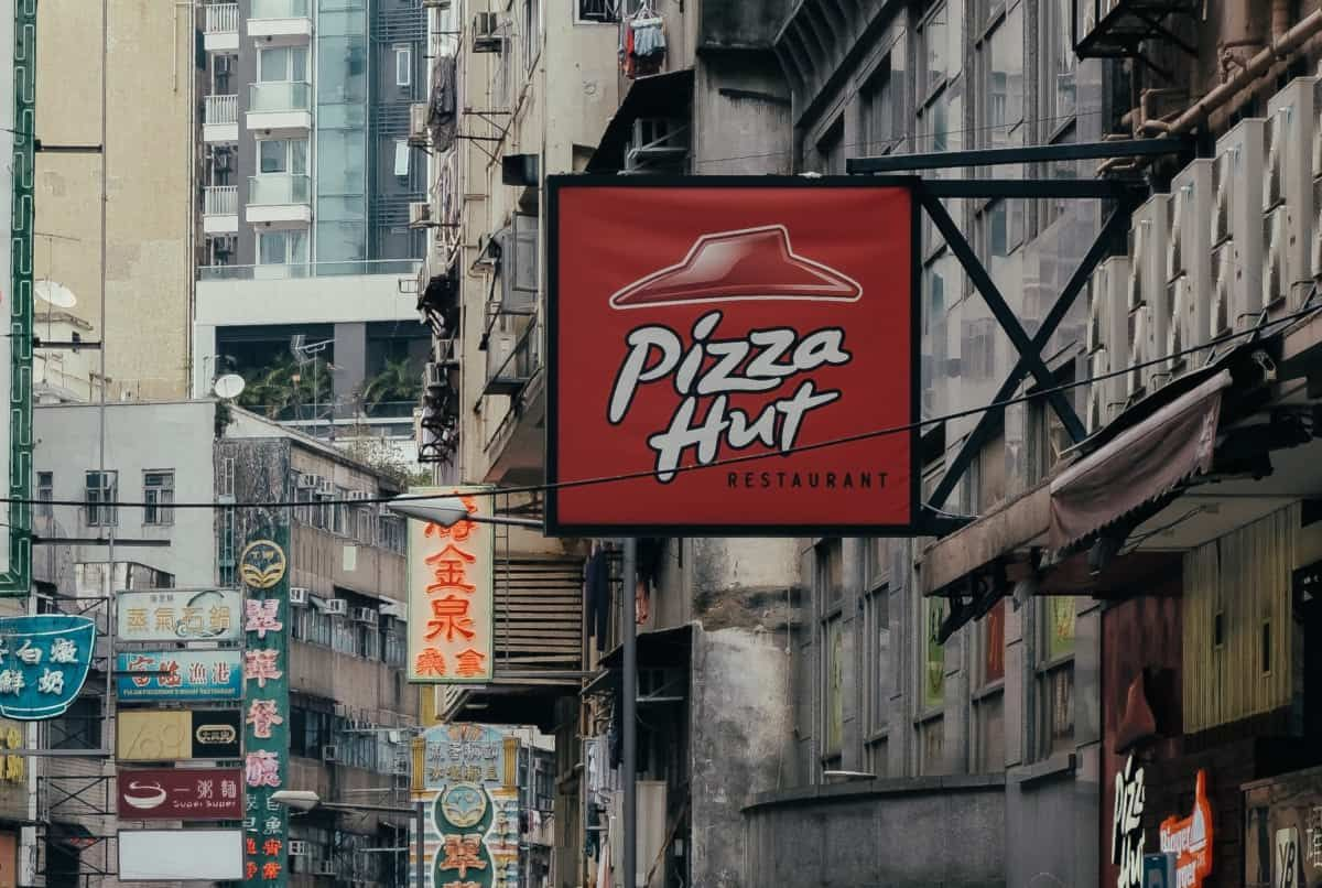 are pizza hut breadsticks vegan