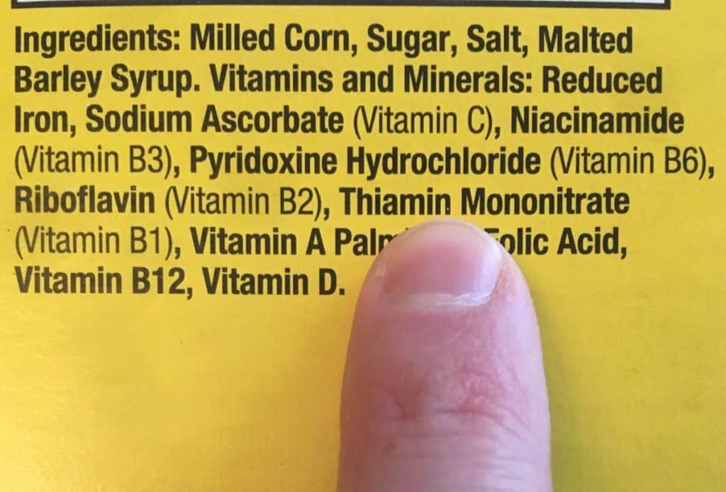 is thiamine mononitrate vegan?
